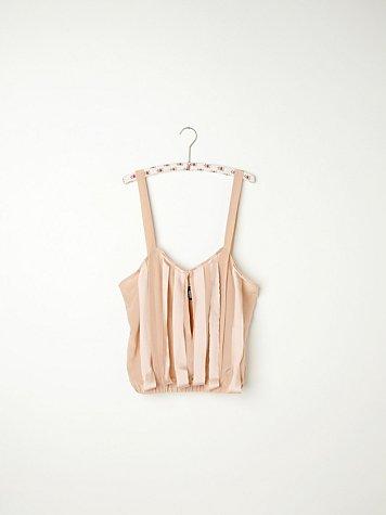 Ribbon Silk Camisole