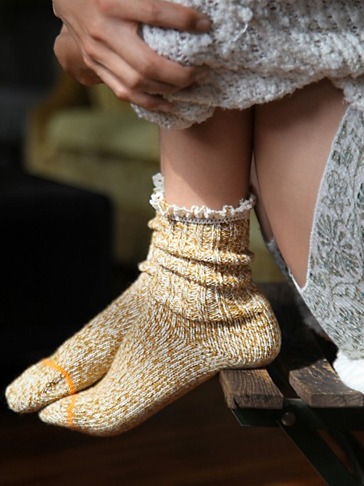 Heathered Highland Boot Sock