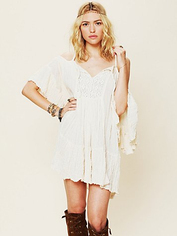 Open Shoulder Tunic