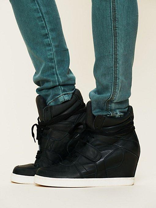 Cool Nappa Wedge Sneaker