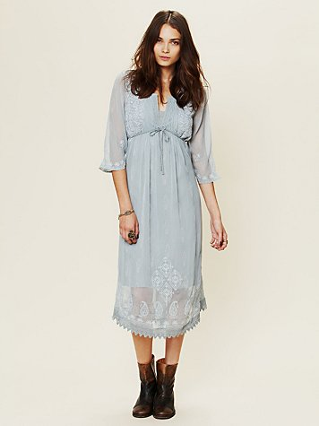 Gauzy Georgette Dress