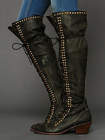 Studded Joe Tall Boot