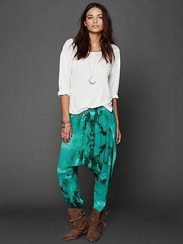 Tie Dye Harem Pants