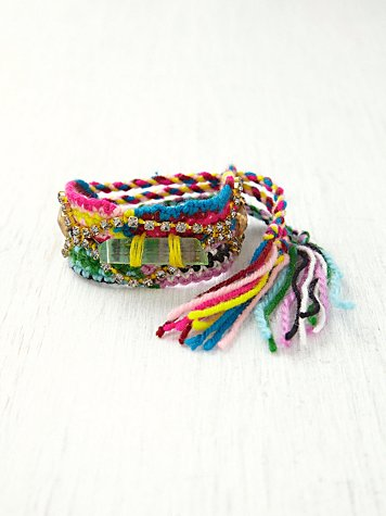 Embellished Friendship Bracelet