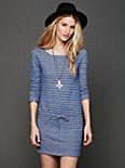 Dutch Stripe Terry Dress