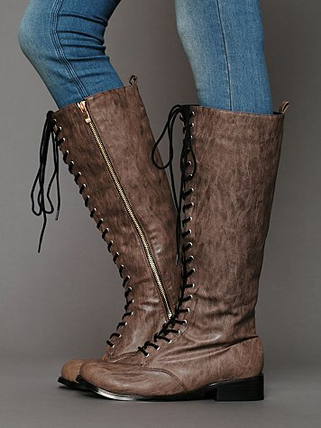 Corey Lace Vegan Boot
