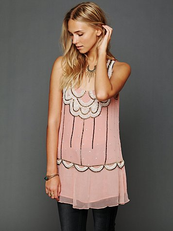 Sleeveless Embellished Molly Tunic