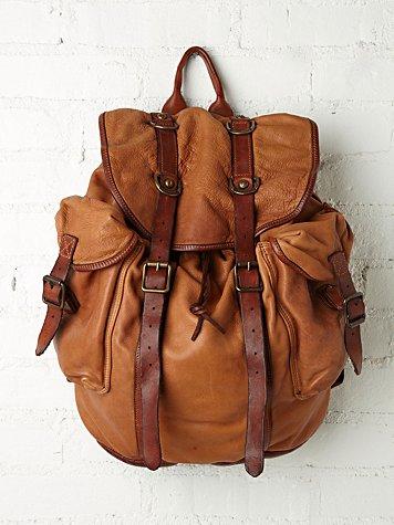 Fontana Leather Backpack