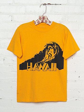 Vintage Hawaii Graphic Tee