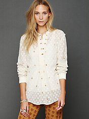 FP New Romantics Dotted Lines Pullover