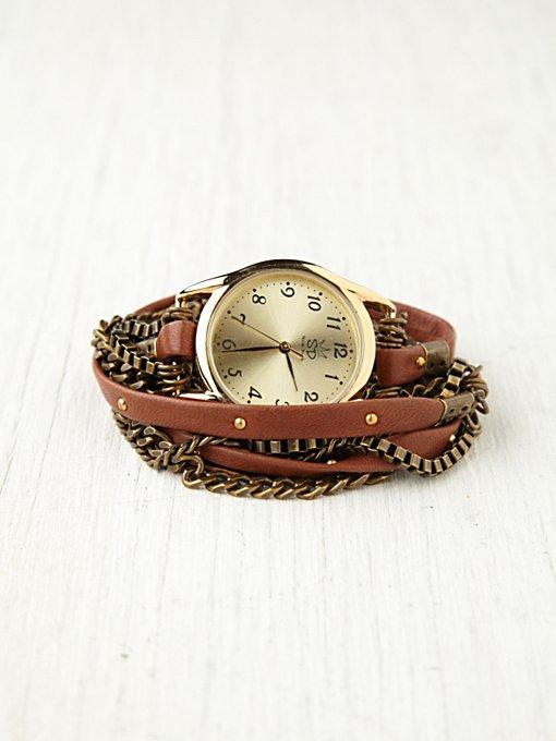 Multi Chain Wrap Watch