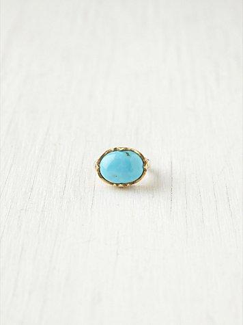 Palmetto Stone Ring