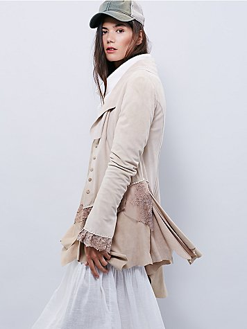 Storm Warning Lacey Suede Jacket