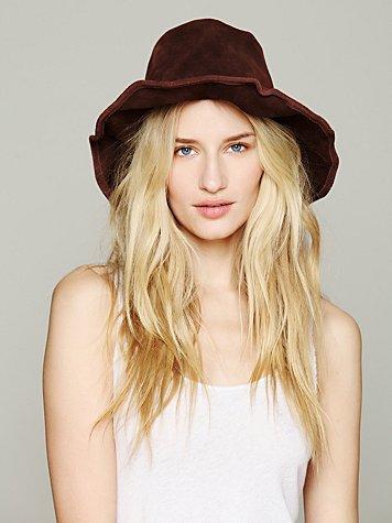 Suede Bohemia Hat