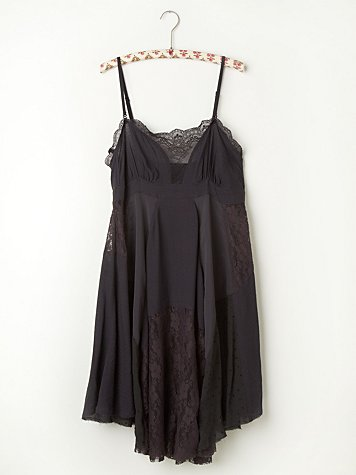 Pieced Lacey Tunic Slip
