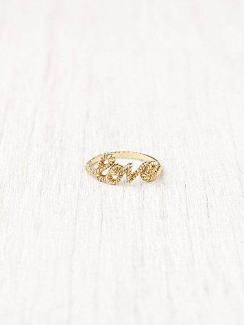Love Lasso Ring