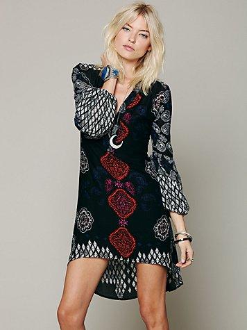 Peacemaker Print Shapeless Dress