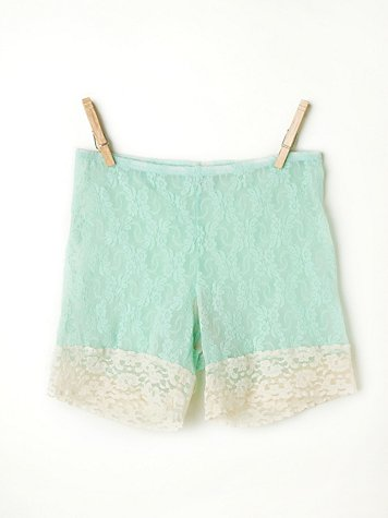 Stretch Lace Bike Short