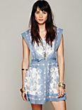 FP New Romantics Song Bird Pinafore Dress