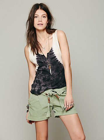 Twill Slouch Short