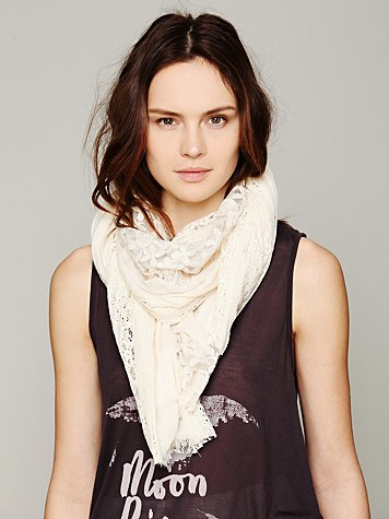 Pieced Lace Scarf