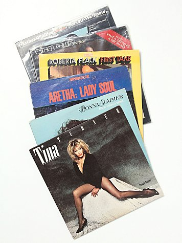 "Vintage ""The Sisters"" Collection of Records"