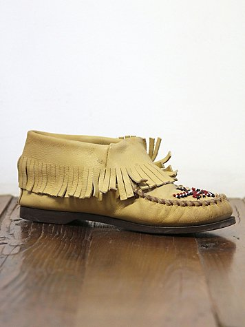 Vintage Minnetonka Moccasin Boots