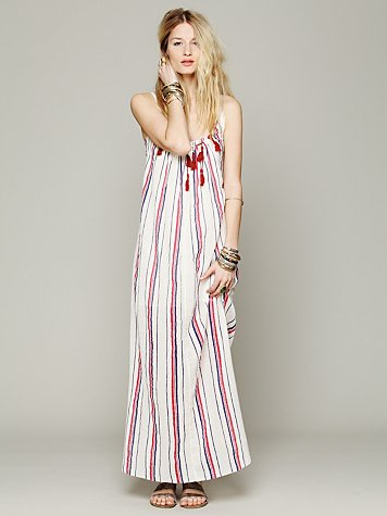 Striped Unearthen Dress