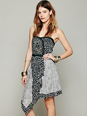 Hot Stuff Strapless Dress