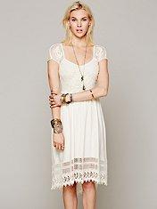 Seashore Battenburg Dress