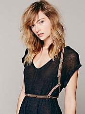 Distressed Harness Belt
