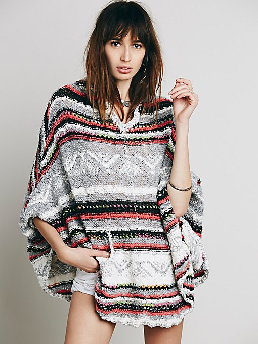 Bubble Tea Poncho