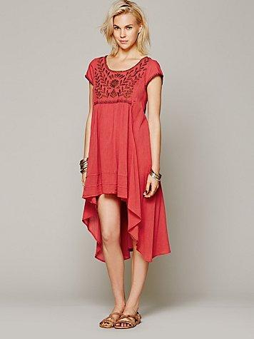 Marina Embroidered Dress