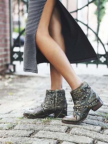 Tulsa Wrap Ankle Boot