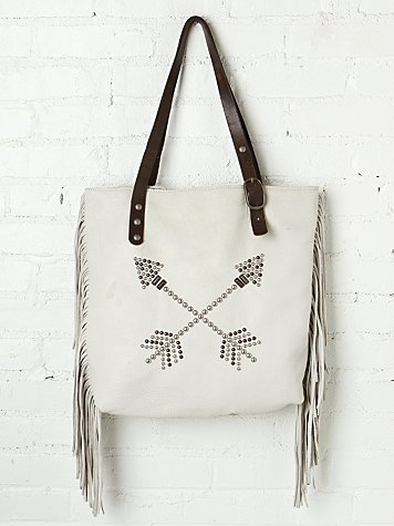Arrow Fringe Tote