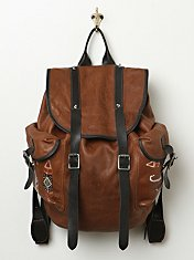 Chaplin Leather Backpack