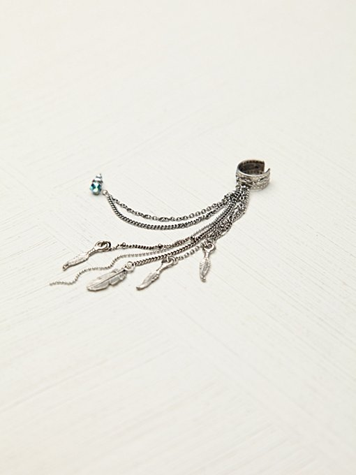 Cuff To Post Earring