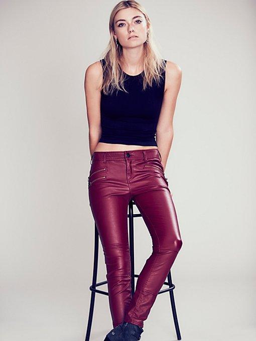 Vegan Leather Skinny