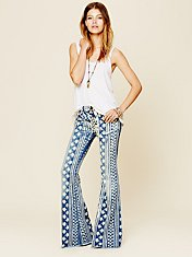 Mantra Printed Flare