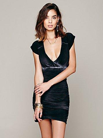 Dare To Bare Mini Dress