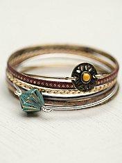 Skinny Bracelet Set