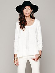 Lace Road Boxy Pullover