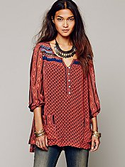 Feather in the Wind Tunic