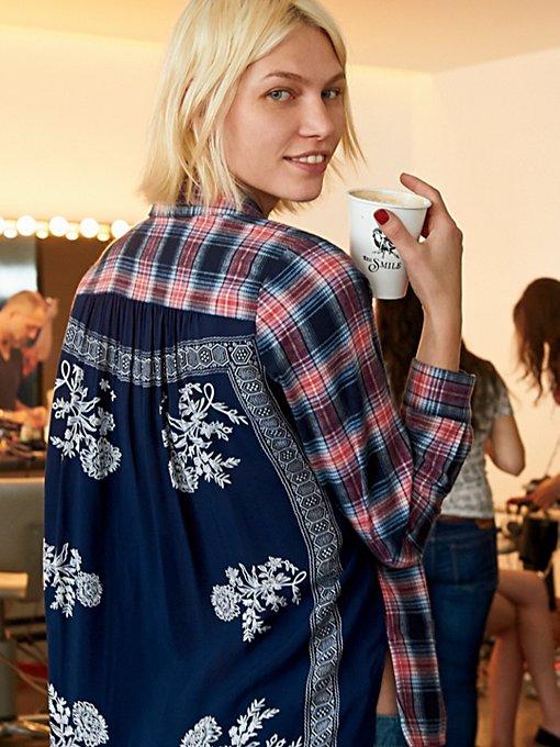 Behind The Flannel Buttondown