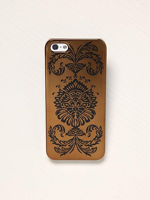 Printed Metallic iPhone 5 Case