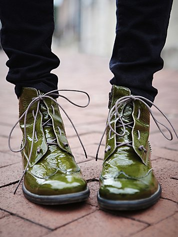 Hi Shine Lace Boot