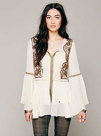 Golden Moments Tunic