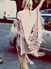 Kirn Fringe Kimono