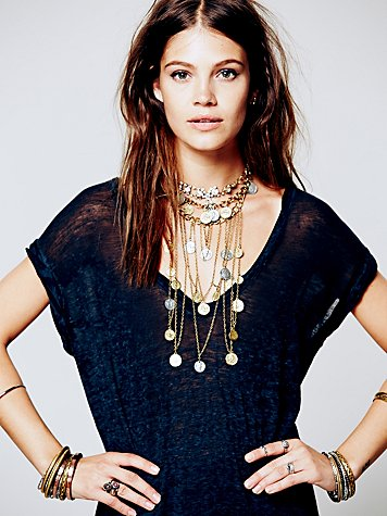 Mykonos Layered Chain Necklace