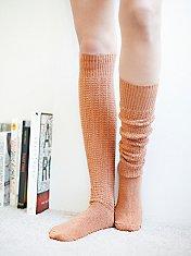 Popcorn Tall Sock
